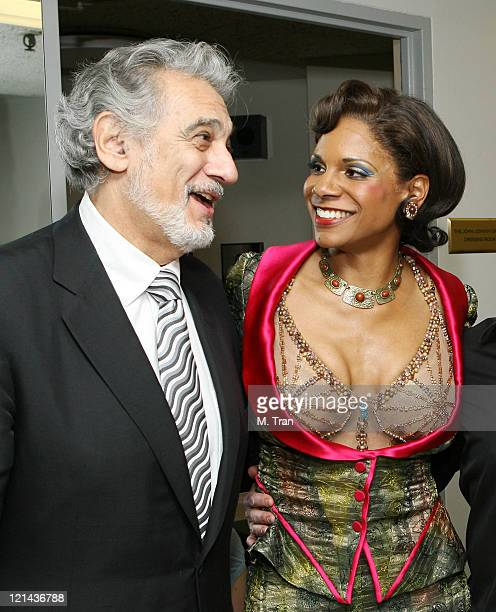 Placido Domingo and Audra McDonald during LA Opera Presents 'Rise and Fall of the City of Mahagonny' Closing Night at Dorothy Chandler Pavilion Music...