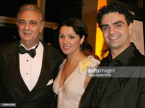 Placido Domingo Anna Netrebko and Rolando Villazon