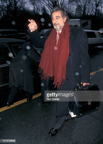 Placido Domingo at Hampshire House New York City