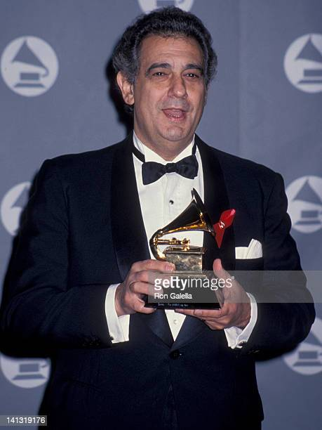 Placido Domingo at the 35th Annual Grammy Awards Shrine Auditorium Los Angeles