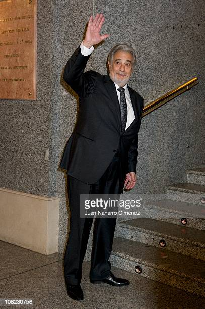 Placido Domingo attends his 70th birthday gala at Teatro Real on January 21 2011 in Madrid Spain