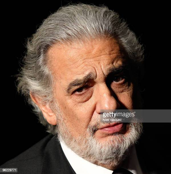 Placido Domingo attends the Grammy Salute to Classical Music honoring him at The Broad Stage on January 27 2010 in Santa Monica California
