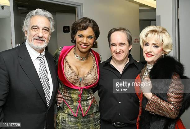 Placido Domingo Audra McDonald James Conlon and Patti LuPone