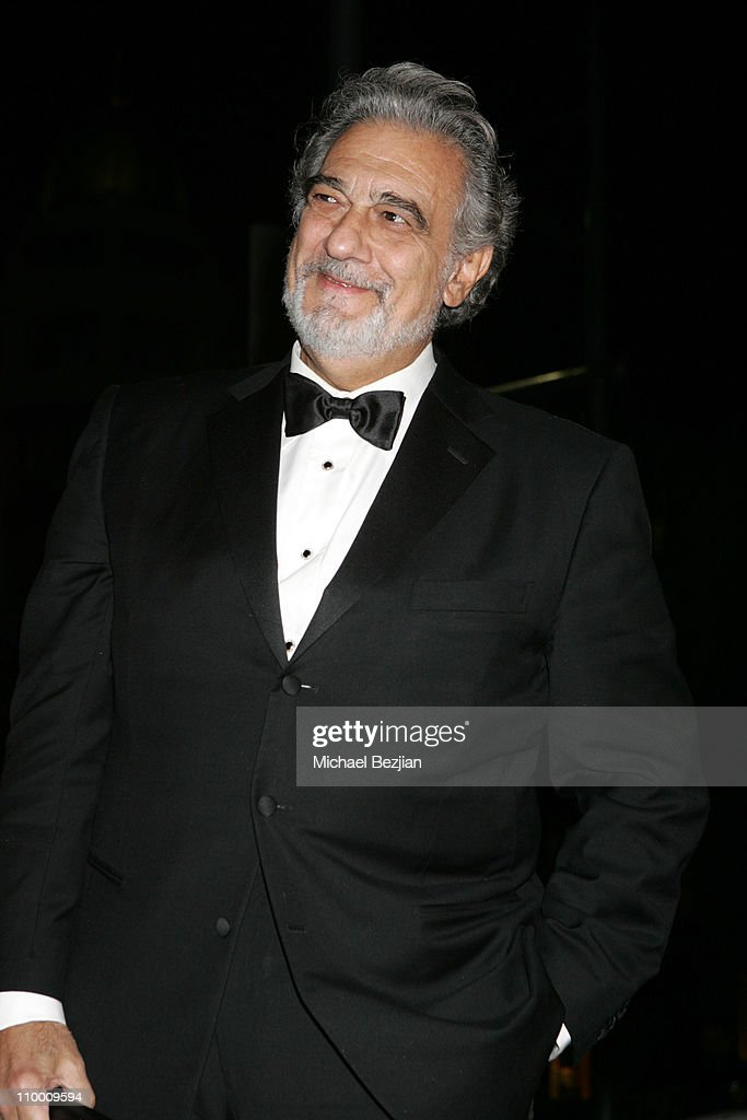 Placido Domingo during City of Beverly Hills Honors Fashion Icon and Giorgio Founder Fred Hayman at Black Tie Gala at Dayton Way in Beverly Hills, California, United States.