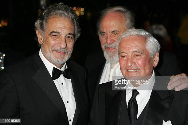 Placido Domingo George Schlatter and Fred Hayman