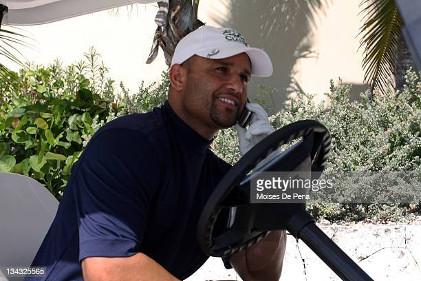 Placido Polanco attends the David Ortiz Celebrity Golf Classic Golf Tournament on December 5 2009 in Cap Cana Dominican Republic