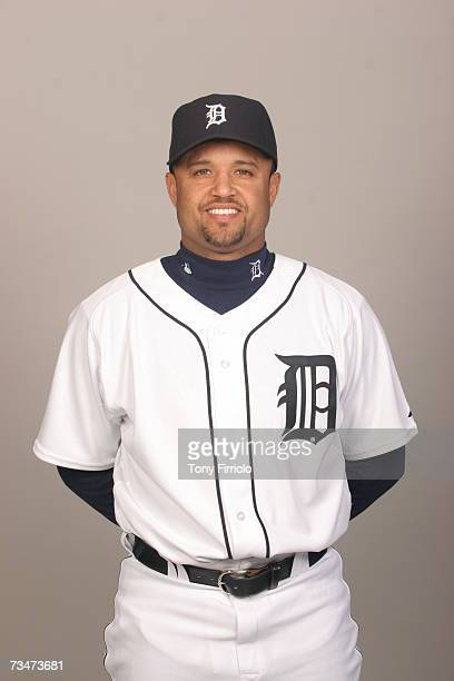 Placido Polanco of the Detroit Tigers poses during photo day at Marchant Stadium on February 24 2007 in Lakeland Florida
