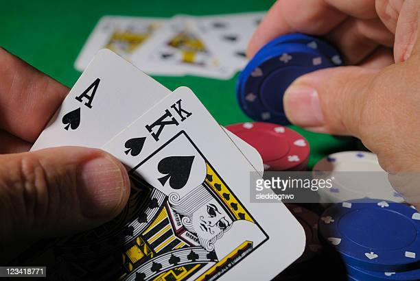 placing a bet - texas hold 'em stock pictures, royalty-free photos & images