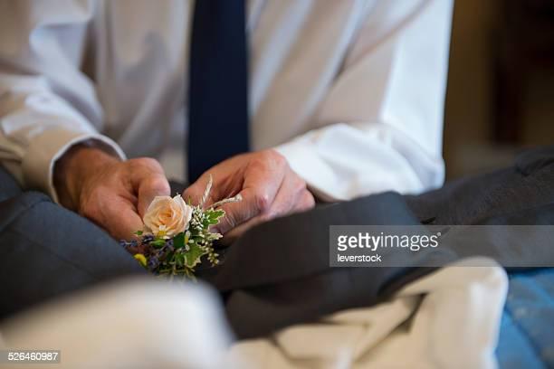 Placing a pinhole on a suit