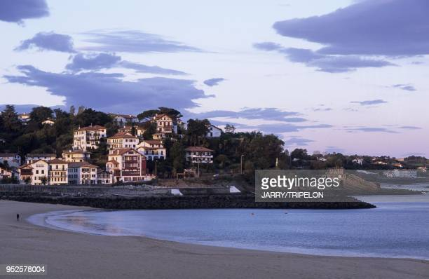 plage Ciboure Pays Basque departement PyreneesAtlantique region Aquitaine France beach Ciboure Pays Basque PyreneesAtlantique Aquitaine France