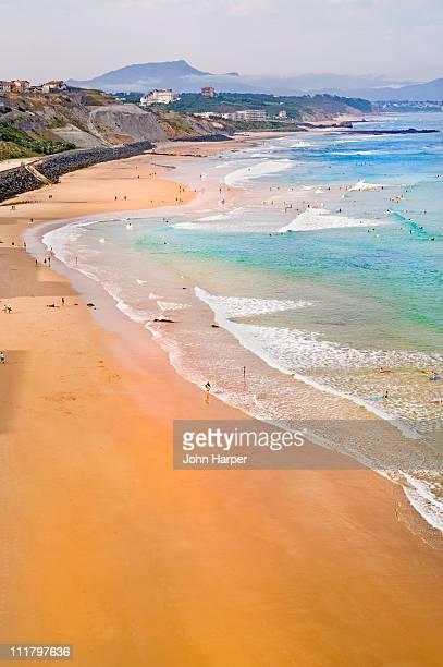 Plage de la Cote des basques, Biarritz, Aquitaine