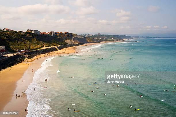 Plage de La Cote des Basques, Biarritz, France