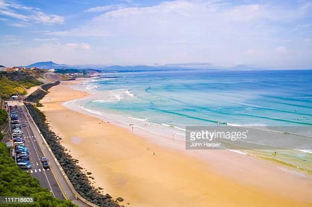 Plage de la Cote des basques, Biarritz