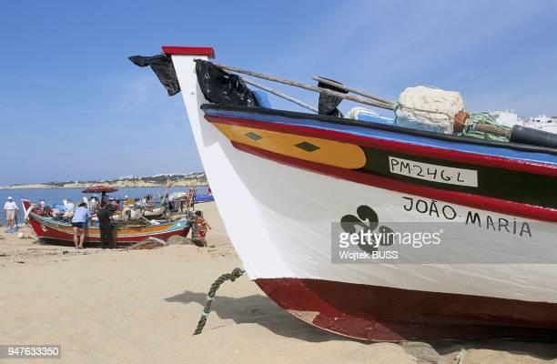Plage et Bateaux Armacao de Pera Algarve Portugal