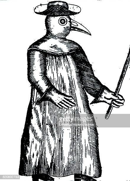 A Plague Doctor from Jean Jacques Manget 'Traité de la peste' 1721
