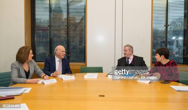 Plaid Cymru leader Liz SavilleRoberts Liberal Democrat Leader Sir Vince Cable SNP Westminster leader Ian Blackford and Green Party CoLeader Caroline...