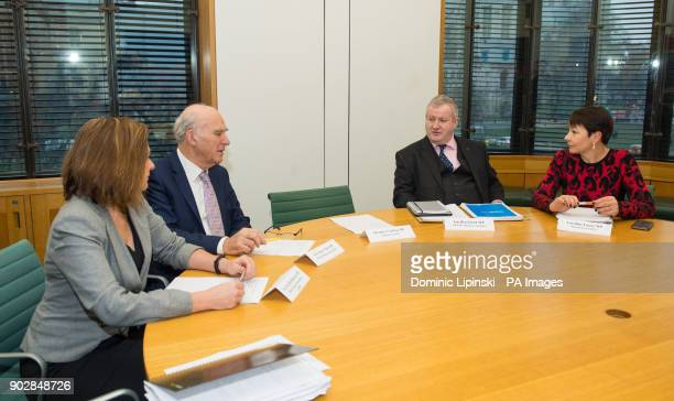 Plaid Cymru leader Liz SavilleRoberts Liberal Democrats Leader Sir Vince Cable SNP Westminster leader Ian Blackford and Green Party CoLeader Caroline...