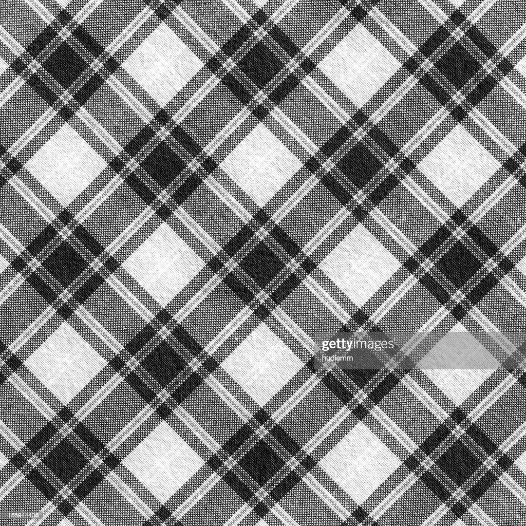 Plaid fabric background textured (XXXL) : Stock Photo