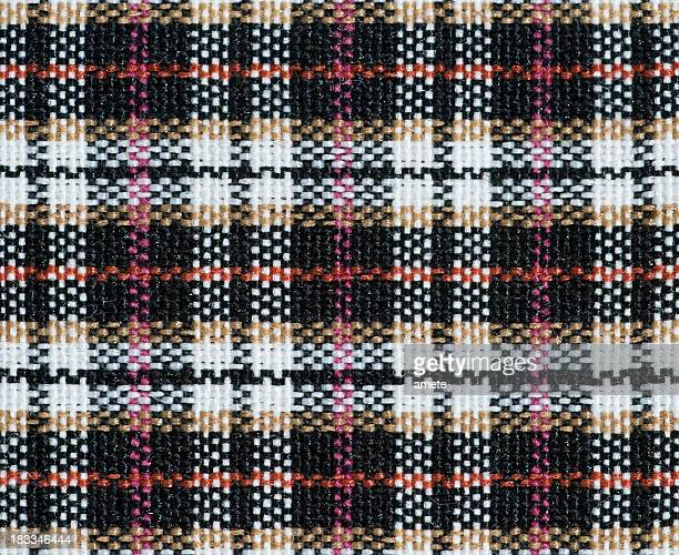 plaid fabric - tweed stock pictures, royalty-free photos & images