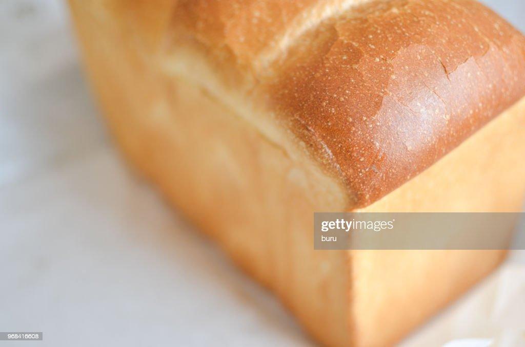 Plain bread : Stock Photo