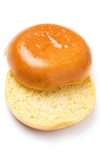 Plain hamburger bun 1016293490
