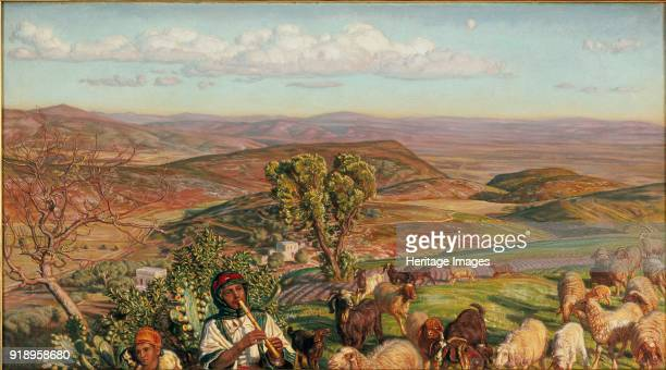 Plain of Esdraelon from the Heights above Nazareth 1876 Dimensions height x width x depth 41 x 75 cm