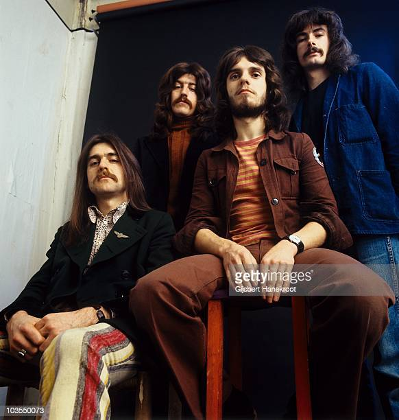 AMSTERDAM NETHERLANDS Plainsong posed in Amsterdam Netherlands in 1972 Ian Matthews 3rd from left