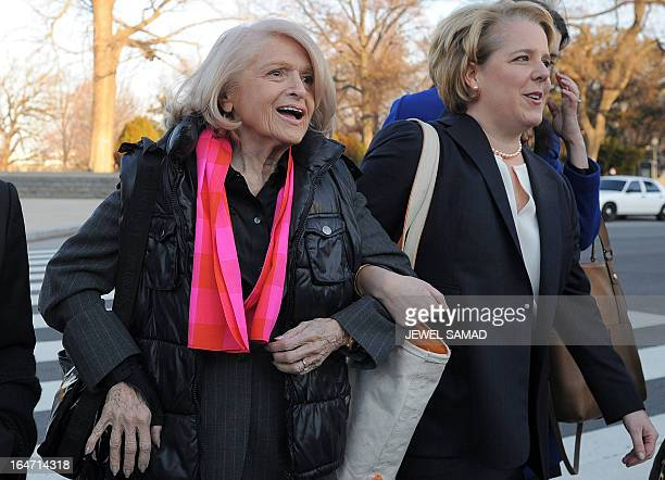 Plaintiff Edie Windsor an 83yearold lesbian who was ordered to pay federal inheritance tax of $363000 following the death of her partner of more than...