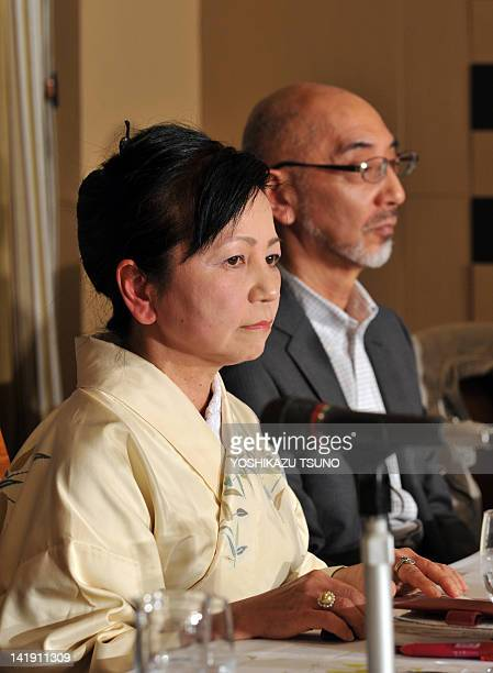 Plaintiff Yui Kimura for the 68 billion USD lawsuit against Tokyo Electric Power Co in a bid to stop nuclear plants and hold executives personally...
