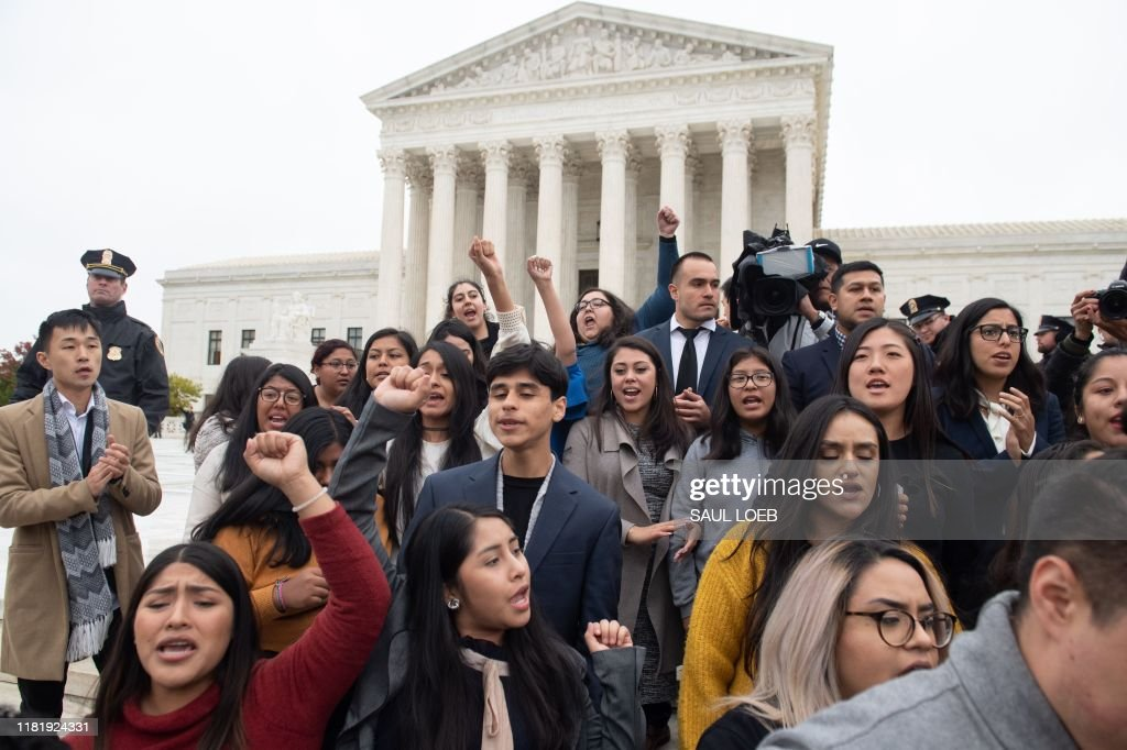 US-COURT-IMMIGRATION-DREAMERS : News Photo