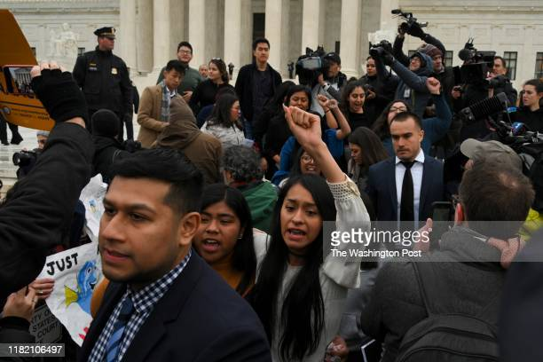 Plaintiffs leave the United States Supreme Court, where the Court is hearing arguments on Deferred Action for Childhood Arrivals - DACA - that could...