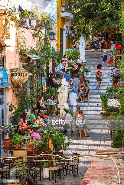 plaka - athens greece stock pictures, royalty-free photos & images