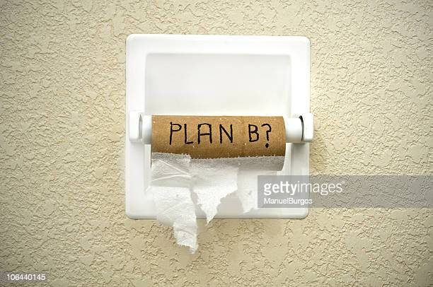 plan b? - funny toilet paper stock pictures, royalty-free photos & images