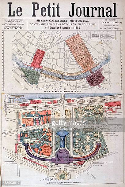 Plan for the Trocadero and Universal Exhibition of 1900 Paris 1900 Exposition Universelle of 1900 was a world's fair held in Paris France to...