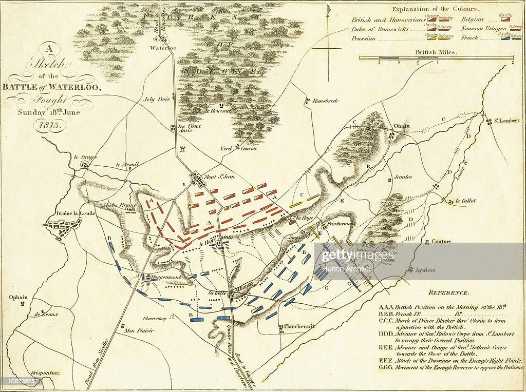 Battle Of Waterloo : News Photo