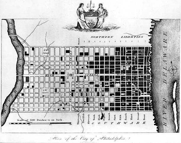 A plan of the city of Philadelphia, situated at the...