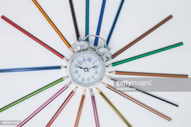 plan the time - time management stock photos and pictures