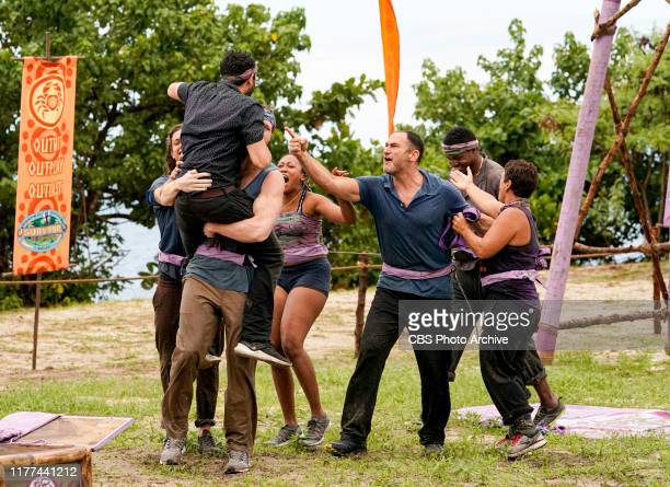 Plan Z Jack Nichting Jason Linden Elizabeth Beisel Dan Spilo Jamal Shipman and Janet Carbin on the fourth episode of SURVIVOR Island of Idols airing...