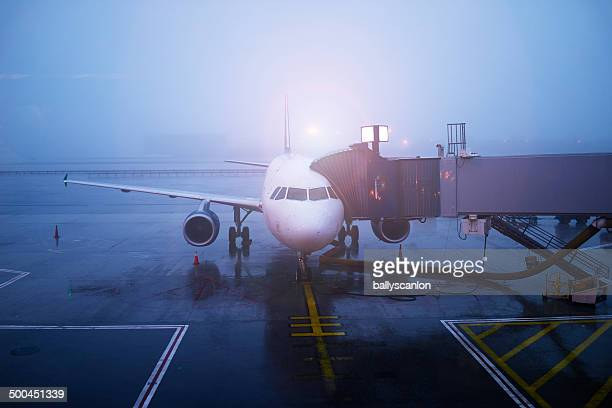 Plane and jetway
