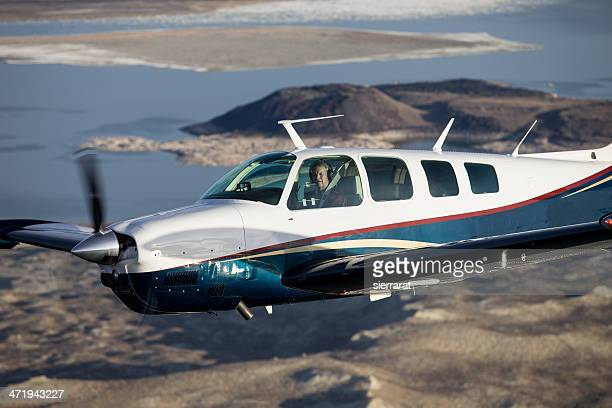 plane closeup - piloting stock pictures, royalty-free photos & images