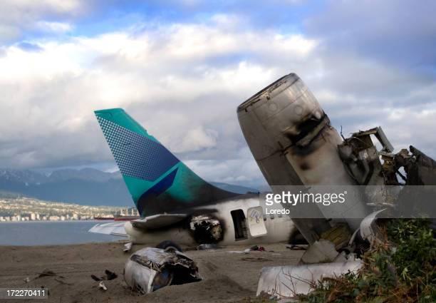 Flugzeug Unfall 4