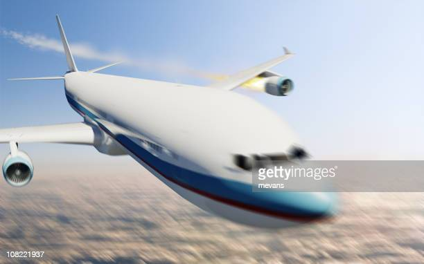Flugzeug Unfall