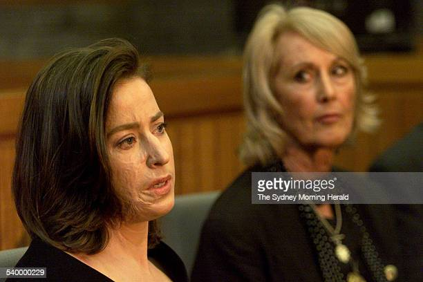 Plane crash survivor Victoria Friend left with her mother Jill Friend at Glebe Coroner's Court Friend was badly burned in January 1999 accident when...