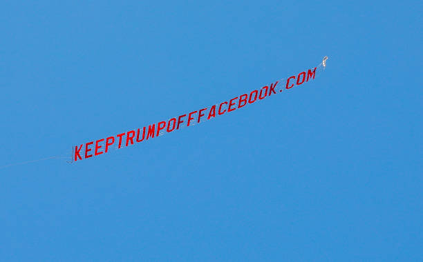 CA: Plane Flies Over Facebook Headquarters Promoting KeepTrumpOffFacebook.com