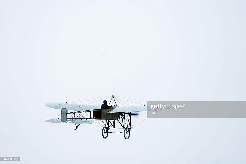 Flugzeug oldtimer von 1907 : Stock-Foto