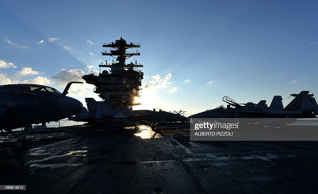 US-SYRIA-CONFLICT-DEFENSE : News Photo