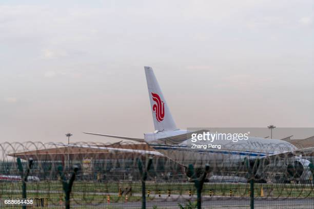 Planes of Air China parking on the apron of Beijing International Airport On May22nd the Capital International Airport Air China Frankfurt Airport...