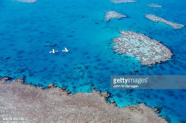 Planes Over Great Barrier Reef