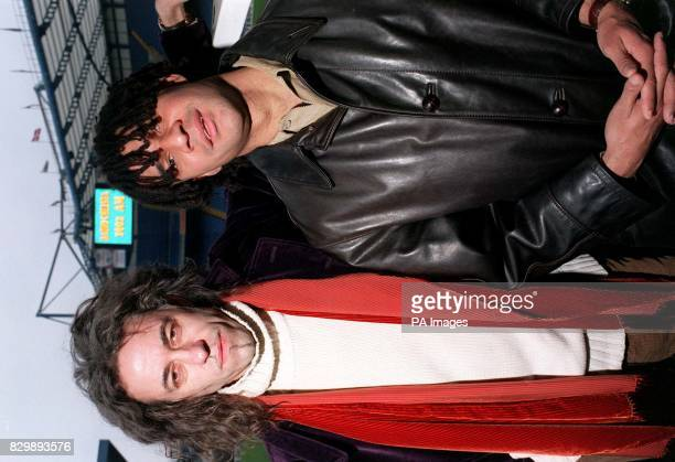Planet 24 director and former Boomtown Rat Bob Geldof links up with Chelsea FC manager Ruud Gullit at Stamford Bridge today as the club announced a...
