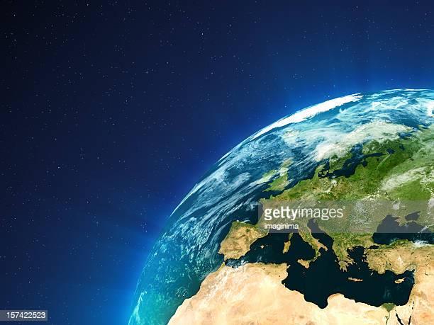 Planet Erde-Europa